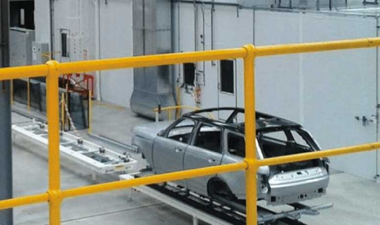 range of products and services offered to the automotive spraybooth industry