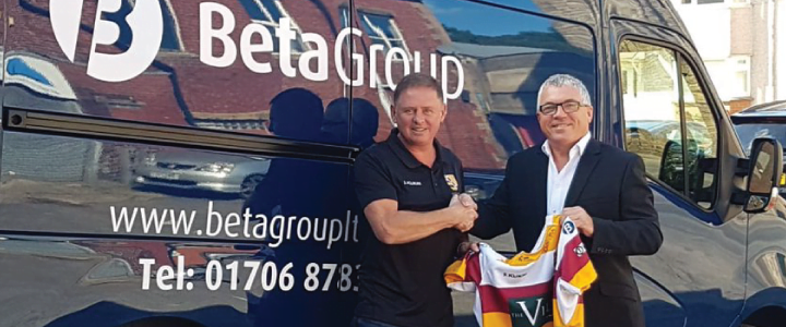 Beta Group Sponsors Fylde Rugby Club
