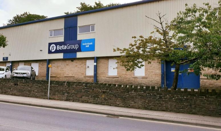 Beta Group Underbank Mill Sign